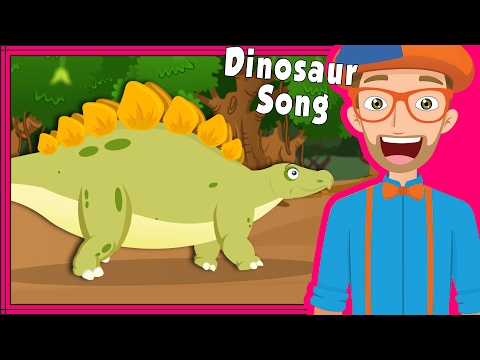 Thumbnail: Blippi Dinosaur Song and More | Educational Videos for Preschoolers