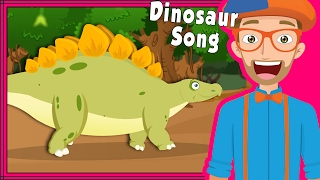connectYoutube - Blippi Dinosaur Song and More | Educational Videos for Preschoolers