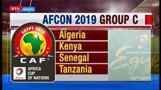 AFCON 2019  Group fixtures | KTN SCORELINE