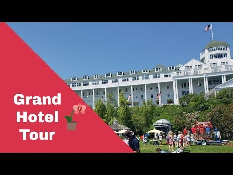 Big MI Road Trip Day 6 Part 1: Ferry Ride To Mackinac Island And Hanging Out At Grand Hotel