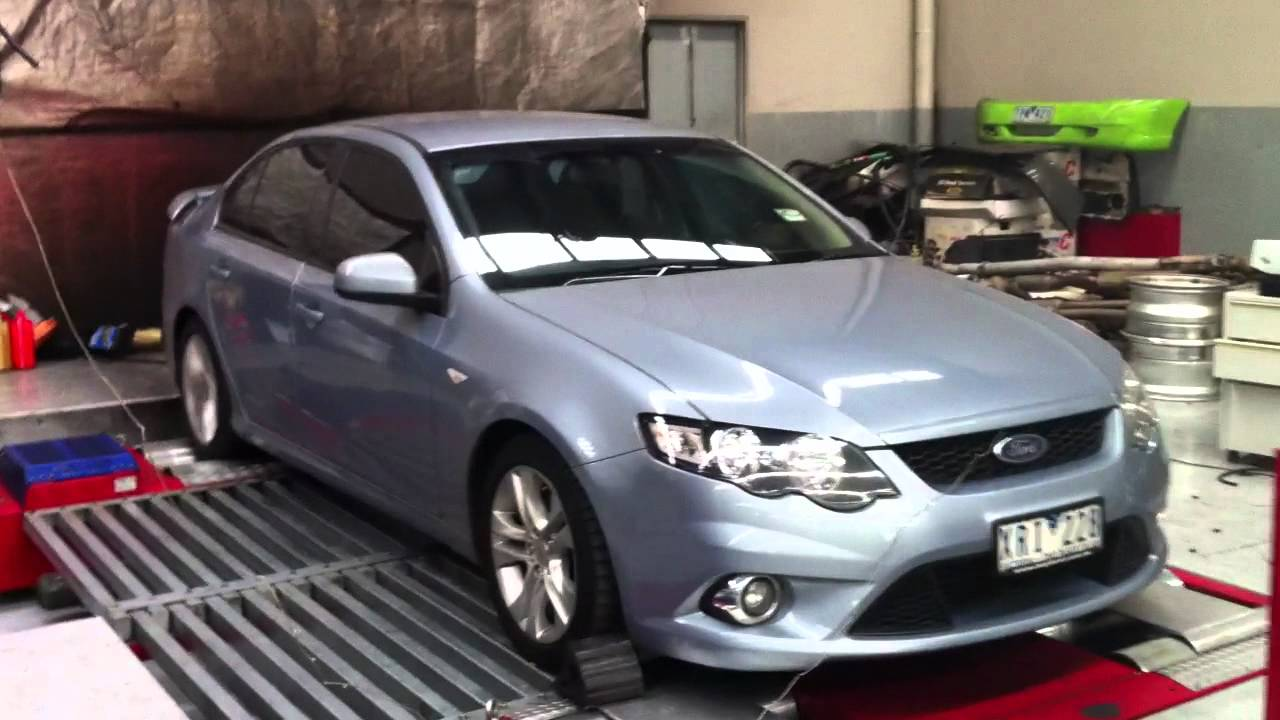 Ford FG XR6, Non turbo, Glenroy exhaust power package