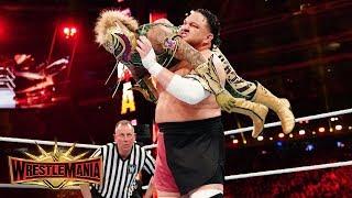 Samoa Joe dismantles Rey Mysterio in one minute: WrestleMania 35 (WWE Network Exclusive)