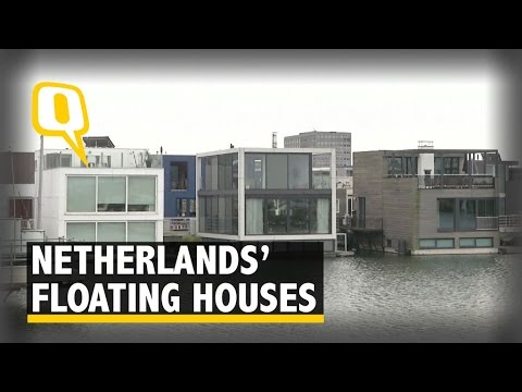 The Netherlands is Building Houses that Float on Water