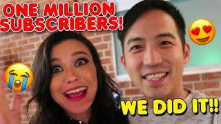 We had a Huge Party! ONE MILLION subscribers!! | VLOG