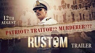 Rustom | Official Trailer | Akshay Kumar, Ileana D'Cruz, Esha Gupta & Arjan Bajwa |(A dashing naval officer, a beautiful wife and a perfect world. This was Naval Commander Rustom Pavri's life. Three fatal shots change their lives. Based on true ..., 2016-06-30T03:30:17.000Z)