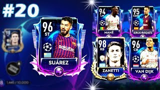 LECIMY po SUAREZA w UCL TOURNAMENT! | FIFA MOBILE 19 #20