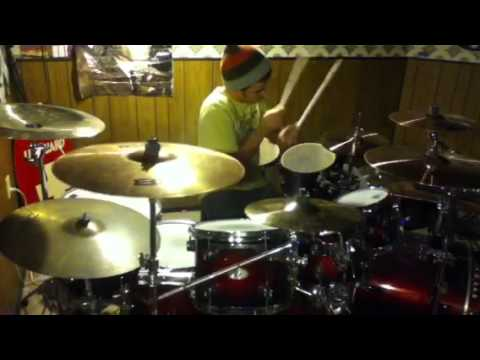A Little Pice of Heaven (drum cover)