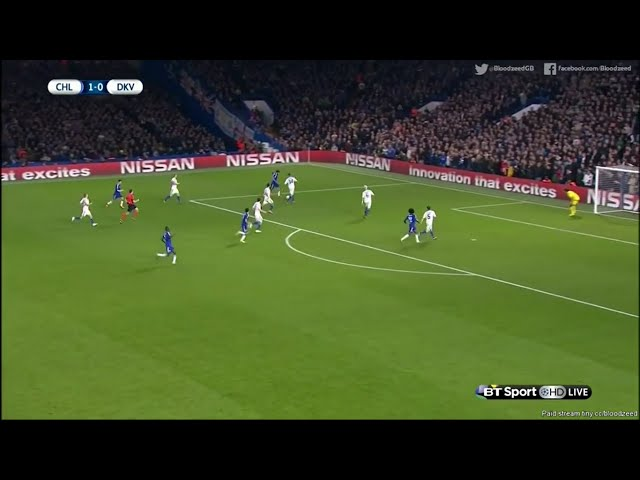 Chelsea 2-1 Dinamo Kiev  Extended highlight - UEFA Champions League 11/4/2015
