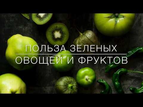 Полезные свойства зелёных овощей и фруктов. Хлорофилл и клетчатка. Эффективная диета и похудение.