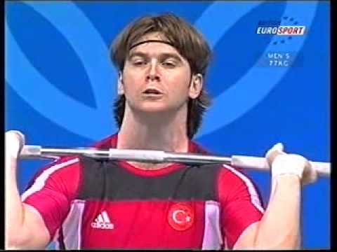 Athens 2004 Weightlifting 77 Kg Highlights