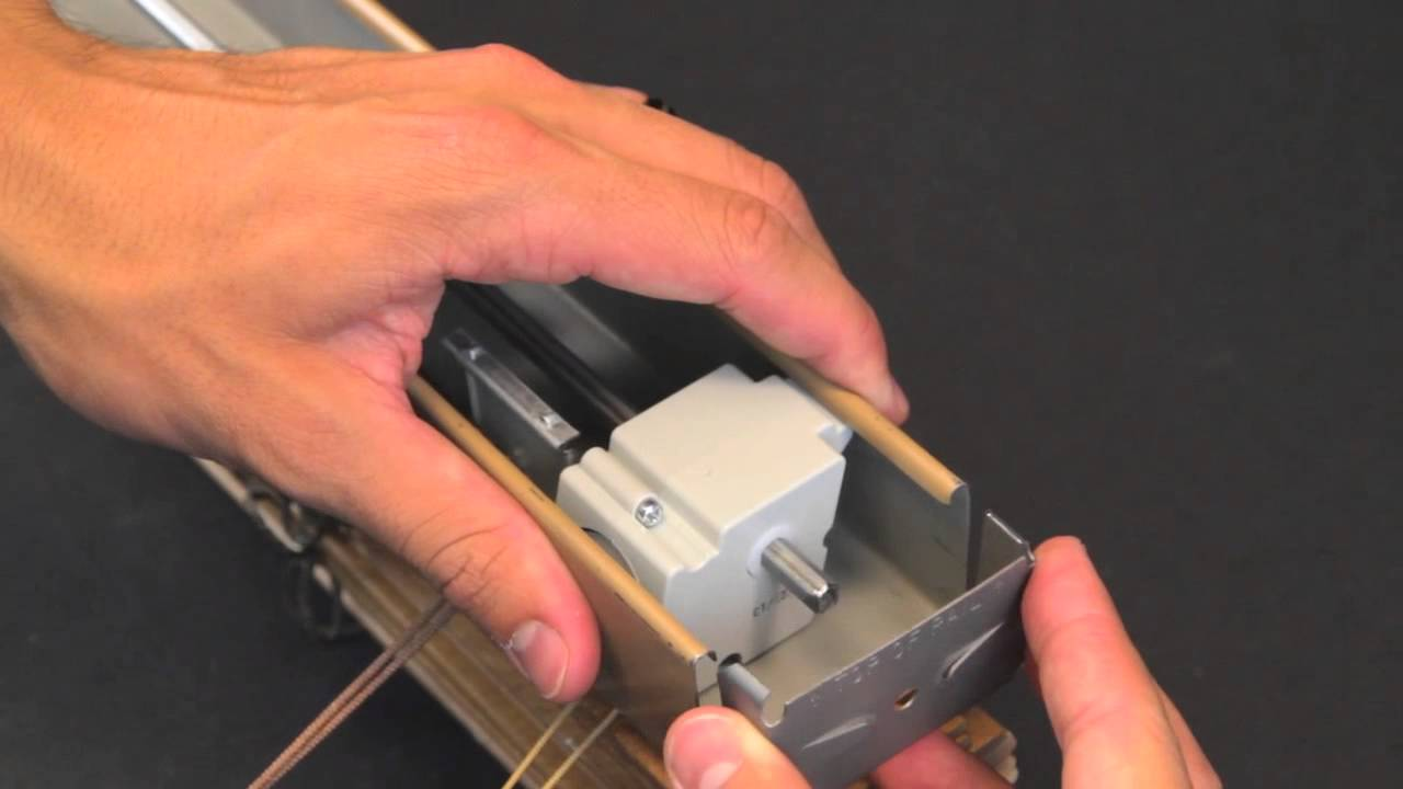 How To Replace A Cord Tilt Mechanism Youtube