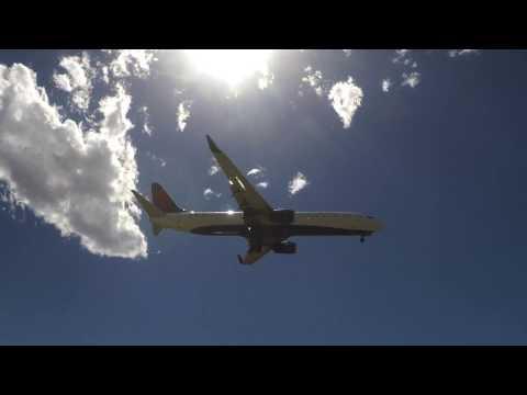 Salt Lake City Int'l Airport Planespotting - July 2016