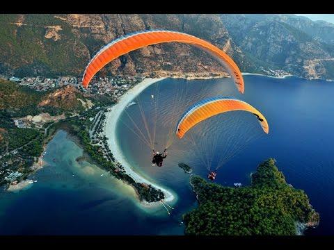 Paragliding in Pokhara, Beauty of Nepal.