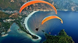 Paragliding in Pokhara, Beauty of Nepal.