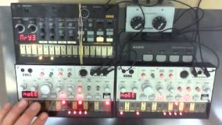 volca arranged by BakaOscillator. Use, KORG volca Bass X2, Betas. ...