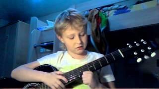 Обучение 2  песен на гитаре