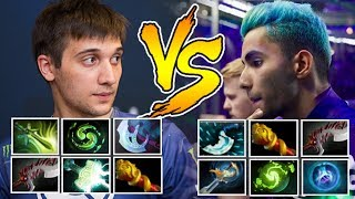 ARTEEZY Juggernaut vs SUMAIL Slark - EPIC Battle Close Game