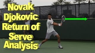 In this novak djokovic return of serve analysis we take a close look at what makes novak's so great.djokovic has all the technical fundamenta...