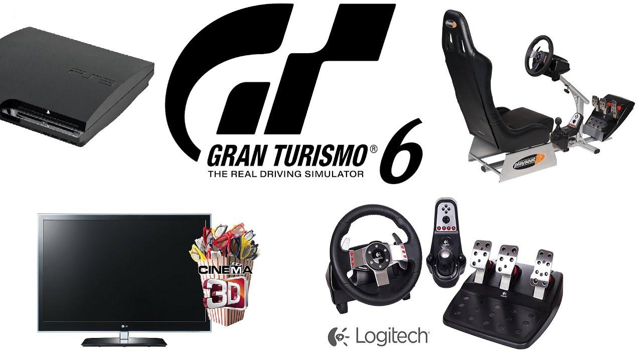 Gran turismo 6 gt6 gameplay with logitech g27 racing wheel homemade playseat youtube