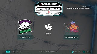 🤠Гранд-финал [RU] Virtus.pro vs NoPangolier | Bo5 | Maincast Autumn Brawl by @Tekcac