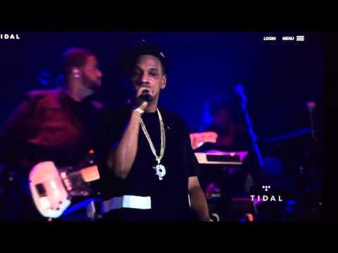 Jay Z - Tidal B-Sides Concert Freestyle