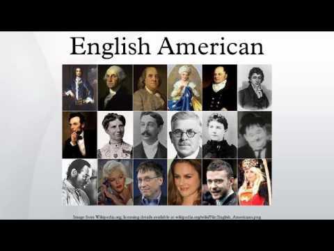 English American