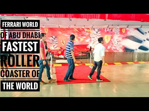 FILIPINO OFW VISIT FERRARI WORLD The World's Fastest Roller Coaster | Abu Dhabi UAE