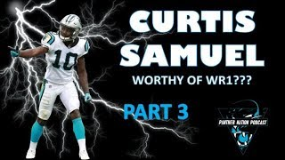 Carolina Panthers: Curtis Samuel - WR1 Worthy??? PART 3