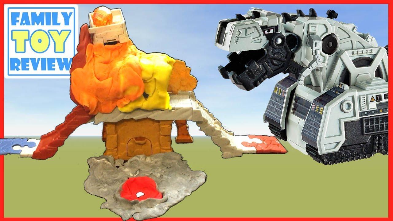 Mattel Dinotrux D-Strux Volcano Liar Vehicle