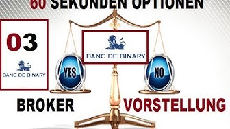 Binäre Optionen Anbieter Banc de Binary Erfahrung - Binäre Optionen Anbieter Banc de Binary Erfahrun