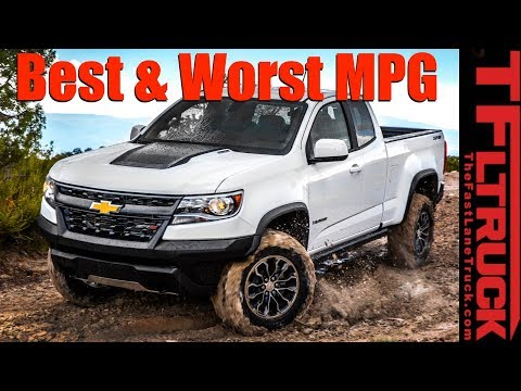 Top 5 Least & Most Fuel Efficient Trucks Counted Down