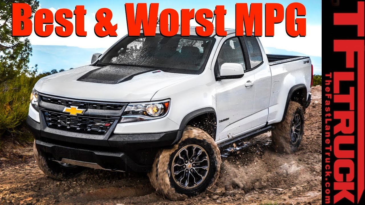 Top 5 Least Most Fuel Efficient Trucks Counted Down Youtube