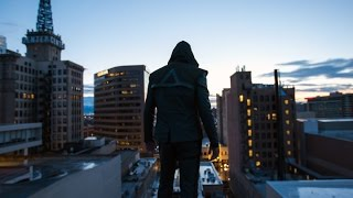 Green Arrow Parkour in Real Life - 4k
