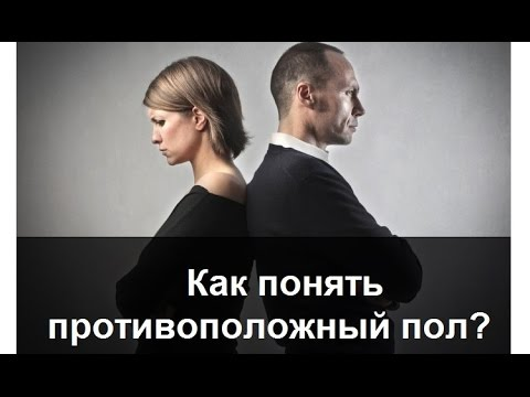 Как понять противоположный пол? Мужчина и Женщина. Психология отношений