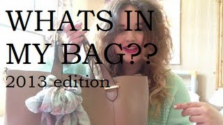 Whats In My Bag Tag Thumbnail