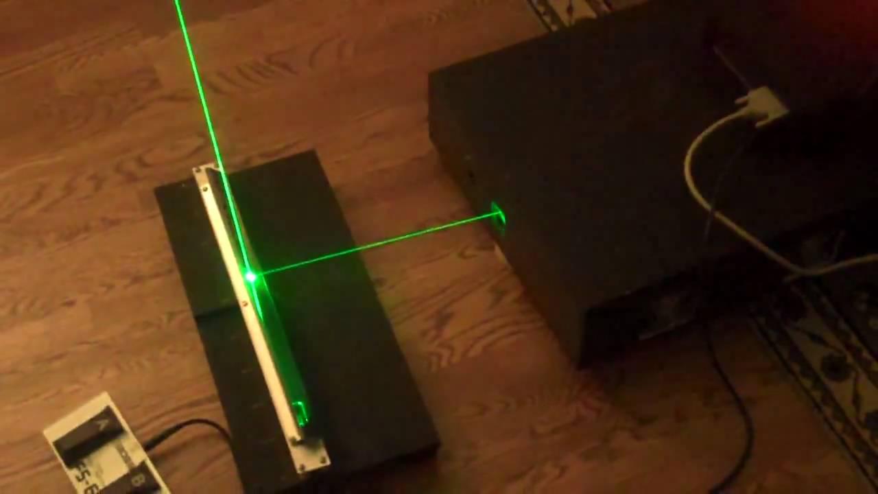 ILDA Laser Harp Controller Testing #2