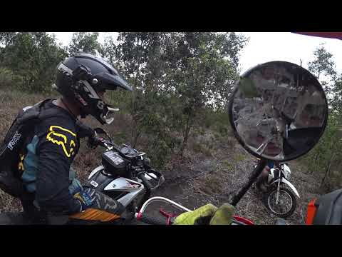 CÀO CÀO HONDA XR150 OFFROAD - Phượt bằng xe máy ở miền tây