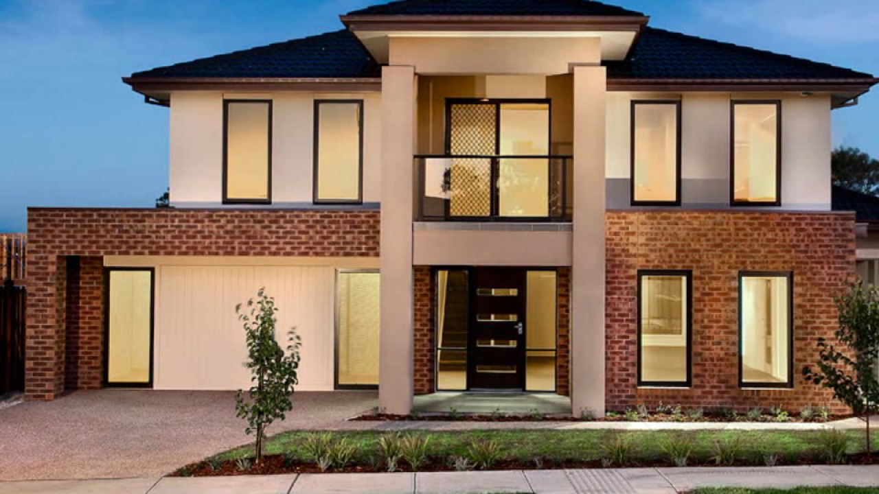 Simple house design ideas exterior - YouTube
