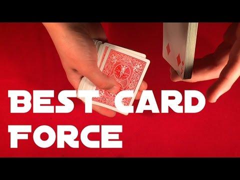 Best Card Force   Beginner Card Tricks