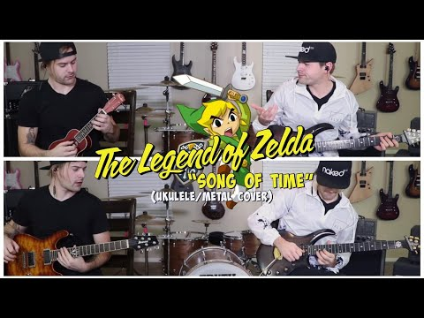 "The Legend Of Zelda ""Song of Time"" (Ukulele/Metal Cover)"