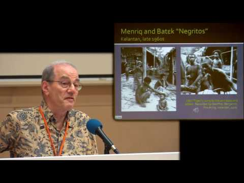 Keynote Presentation: Prof Geoffrey Benjamin - Music-and-culture in the Malay World