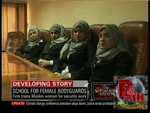 EGYPT'S LADYGUARDS: Cairo Security Firms Train Muslim Women to Be Bodyguards for VIPs