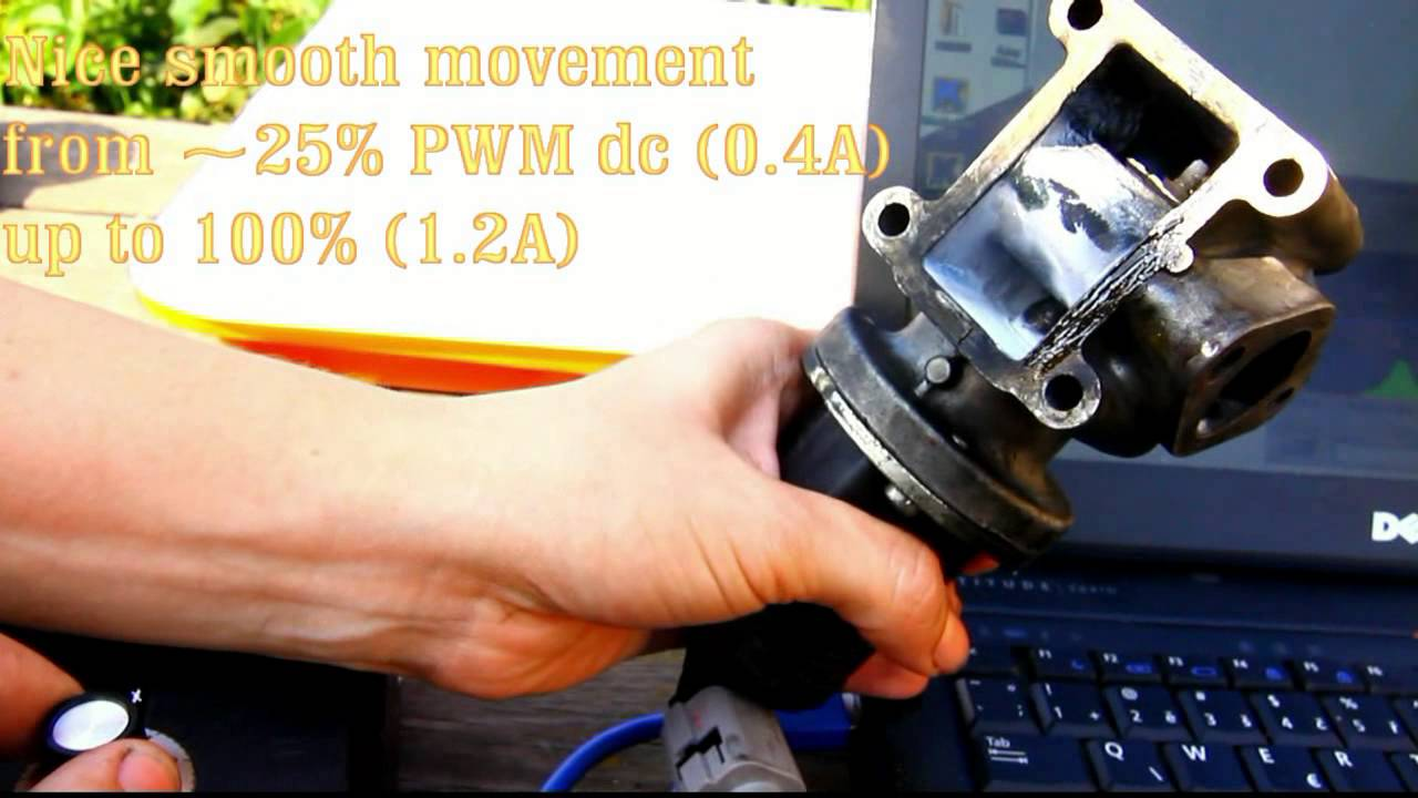 Pierburg Egr Solenoid Valve Proper And Faulty Operation Youtube Wiring Diagram For Alfa Romeo 156