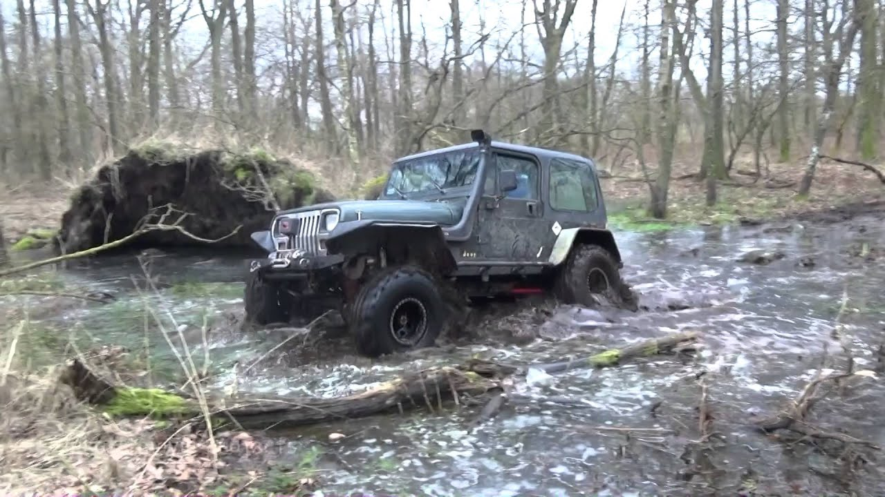Jeep Wrangler Yj Grim Reaper 4x4 Off Road Full Power By