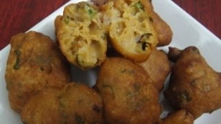 Wheat Bonda | கோதுமை போன்டா | Tamil Recipe with English subtitle