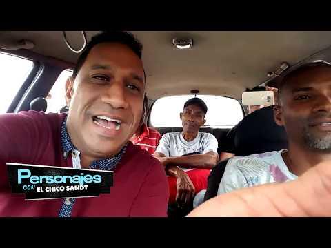 Chofer de carro publico se desahoga en PERSONAJES CON EL CHICO SANDY