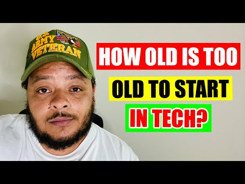 How Old is Too Old to Start Out in Tech?