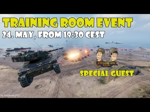 World of Tanks - Training Room Event with AwesomeEpicGuys!