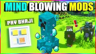 Top 10 Minecraft mindblowing mods   minecraft mods hindi