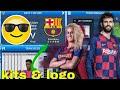 Dream League Soccer 2019 How To Create Barcelona FC New Kits & Logo 2019/2020